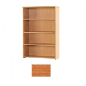 Sunflower Medical Cherry 160cm High Bookcase