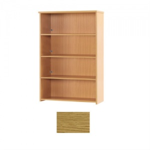 Sunflower Medical Modern Oak 160cm High Bookcase