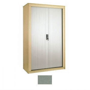 Sunflower Medical Silver 160cm Tall Tambour Unit