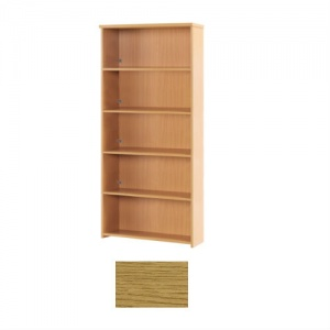 Sunflower Medical Modern Oak 200cm High Bookcase
