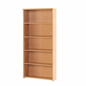 Sunflower Medical Beech 200cm High Bookcase