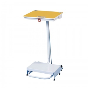 Sunflower Medical 70 Litre Free-Standing Sack Holder with Yellow Lid for Incineration