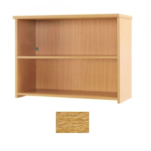 Sunflower Medical Light Oak 74cm High Bookcase