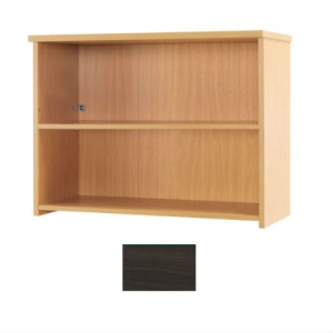 Sunflower Medical Walnut 74cm High Bookcase