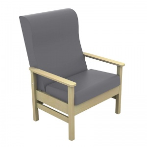 Sunflower Medical Atlas Grey High-Back Intervene Bariatric Patient Armchair