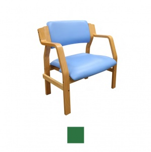 Sunflower Medical Aurora Green Vinyl Bariatric Armchair