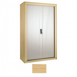 Sunflower Medical Japanese Ash 120cm Tall Tambour Unit