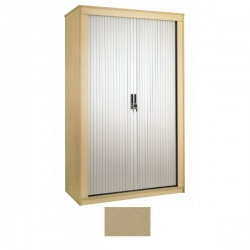 Sunflower Medical Maple 120cm Tall Tambour Unit