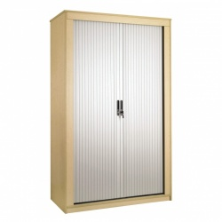 Sunflower Medical Japanese Ash 160cm Tall Tambour Unit