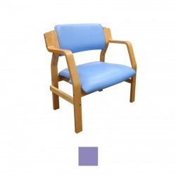 Sunflower Medical Aurora Lilac Vinyl Bariatric Armchair