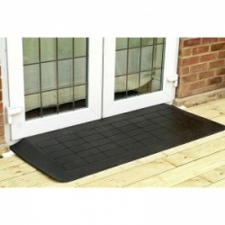 Doorline-Neatedge Wide Rubber Wheelchair Ramp