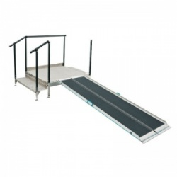Connect Platform for Aerolight Wheelchair Ramps