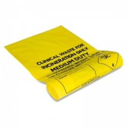 Biohazard Clinical Waste Bags