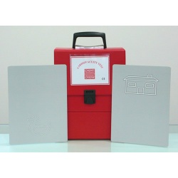 Cardiff Red Box Carry Case