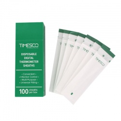 Timesco Rappid Thermometers Sheath Covers (Box of 100)