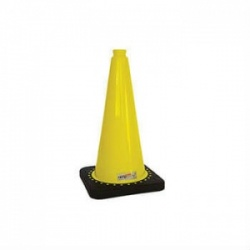 Aerolight High-Visibility Warning Cone for Ramps