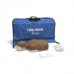Laerdal Little Anne CPR Mannequins with Dark Skin (Pack of 4)