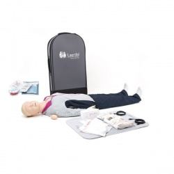 Laerdal Resusci Anne QCPR AED Mannequin (Full Body in Trolley Suitcase)