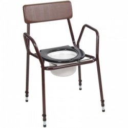 Harvest Stackable Adjustable Commode Chair