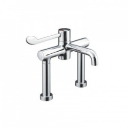 Sunflower Medical HTM 64-Compliant Deck Mounted Sequential Thermostatic Mixer Tap