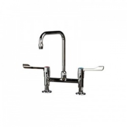 Sunflower Medical Traditional Twin Lever Mixer Tap