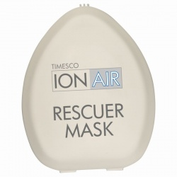 Timesco CPR ION-AIR Rescu-Mask with Valve and O2 Port (Pack of 20)