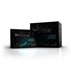 Trio Elisse Sting-Free Skin Barrier Wipes (Pack of 30)