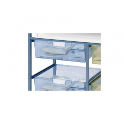 Additional Double Depth Wide Tray for the Sunflower Medical Ward Drug and Medicine Dispensing Trolleys