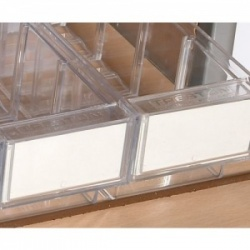 Additional Narrow Tray Labels for the Sunflower Medical UDS Trolleys (Pack of 100)