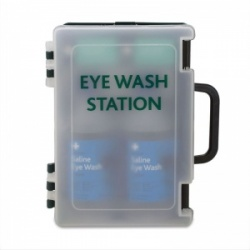 Basic Eye Wash First Aid Station