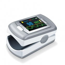 Beurer PO80 Pulse Oximeter for Determining SpO2 and Pulse Frequency