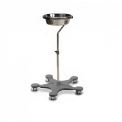 Bristol Maid Easy-Clean Stainless Steel Single Bowl Stand