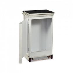 Bristol Maid 75-Litre Hands-Free and Rust-Free Medical Bin with Removable Body and Opening Front