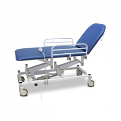 Bristol Maid Electric Two-Section Mobile Treatment and Examination Couch with Foot Switch