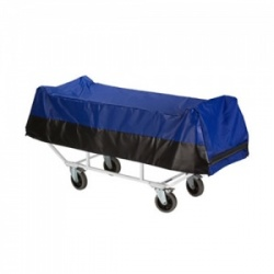 Bristol Maid Concealment Trolley Fixed Height Fixed Body Tray, Drop Sides
