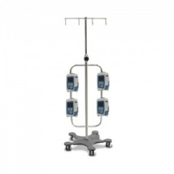 Bristol Maid High-Capacity Four-Hook Infusion Pump Stand