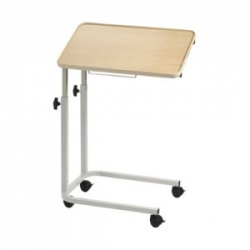 Bristol Maid Laminate Economy Overbed Table