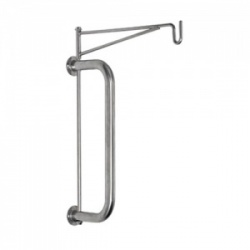 Bristol Maid Wall-Mounted Single-Hook Infusion Bag Holder