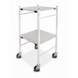 Bristol Maid Dressing Trolley with Mild Steel 450 x 450mm Removable Shelves