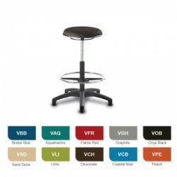 Bristol Maid Techno Stools High Medical Stool (Vinyl)