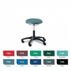 Bristol Maid Techno Stools Low Medical Stool (Fabric)