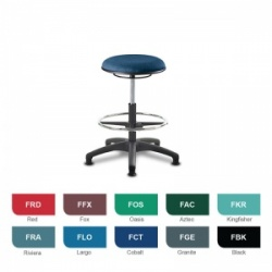 Bristol Maid Techno Stools Medium Medical Stool (Fabric)