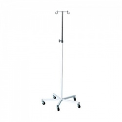 Bristol Maid Two-Hook Mild Steel Infusion Stand with Weighted Base