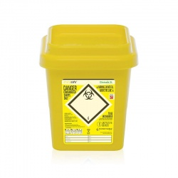Clinisafe 3 Litre Infectious Clinical Waste Yellow Bin (Pack of 20)