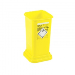 Clinisafe 5.5 Litre Infectious Clinical Waste Yellow Bin (Pack of 20)