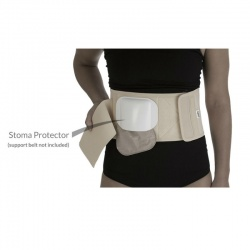 Comfizz Optional Stoma Protector for Level 3 Support Belt or Comfishield