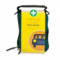 Compact Vehicle First Aid Kit in Helsinki Bag