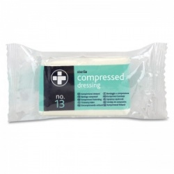 Sterile Compressed Dressings