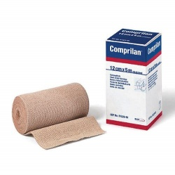 Comprilan 100% Short Stretch Cotton Bandage (Pack of 5)