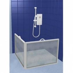 Contour Extra Wide Two-Panel Carerscreen Shower Screen